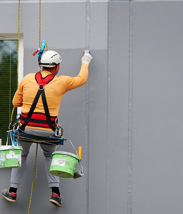 Peinture de vos façades extérieures en bois, crépi ou béton